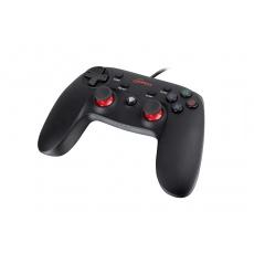 Drátový gamepad Genesis P65, pro PS3/PC, vibrace