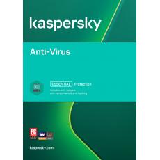 Kaspersky Anti-Virus 3x 1 rok Obnova