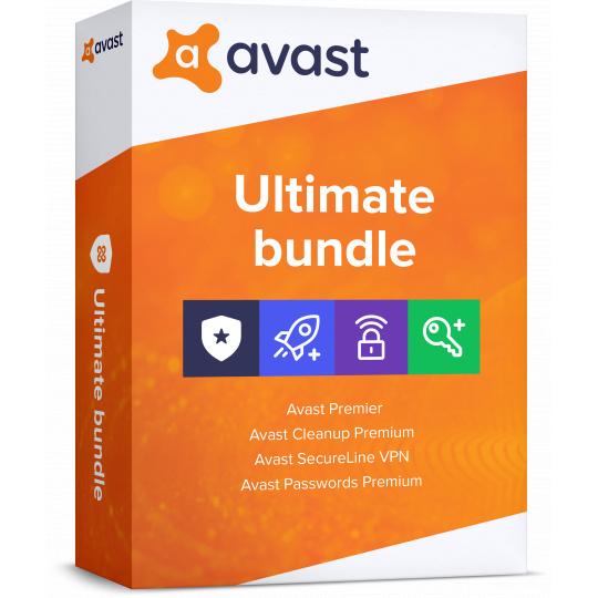 Avast Ultimate 1 PC 12 měs.
