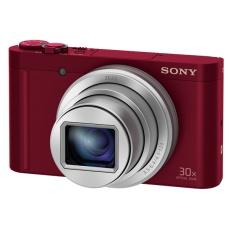 Sony DSC-WX500 červená,18,2Mpix,30xOZ,fullHD,WiFi