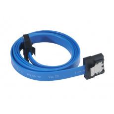 AKASA - Proslim 6Gb/s SATA3 kabel - 50 cm - modrý