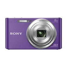 Sony Cyber-Shot DSC-W830 fialový,20,1M,8xOZ,720p