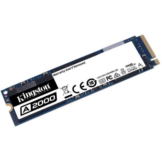 1TB SSD A2000 Kingston M.2 2280 NVMe