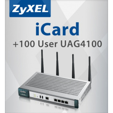 ZYXEL UAG4100 e-license from 200 to 300 clients