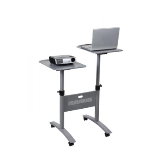 NOBO Multimediální stolek -2 místný,nosnost 2x10kg