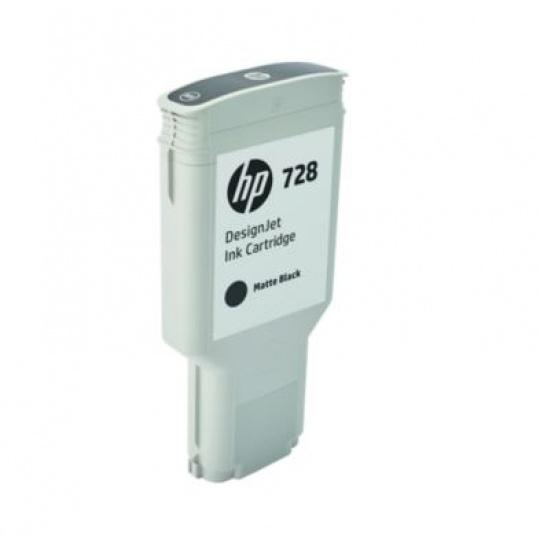 HP no 728 300-ml matně černá ink. kazeta